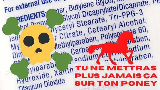 Stop ! Ne Mettez Plus n'importe Quoi sur votre Cheval. Comment Décrypter les Étiquettes de Vos Produits Favoris.