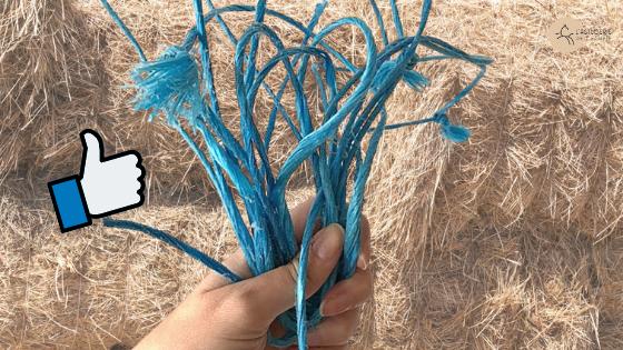 utilisations ficelles de botte de paille foin