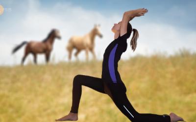 Yoga pour le Cavalier : 5 Exercices pour Améliorer sa Position à Cheval !