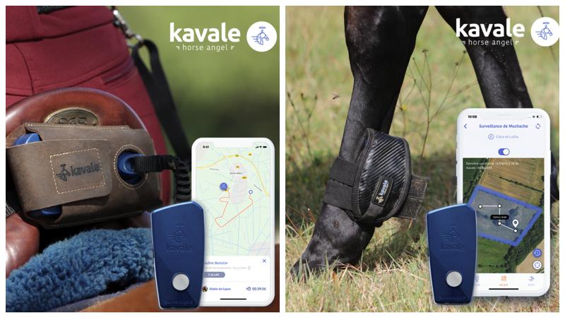 Kavale l'appli anti-chute de cheval