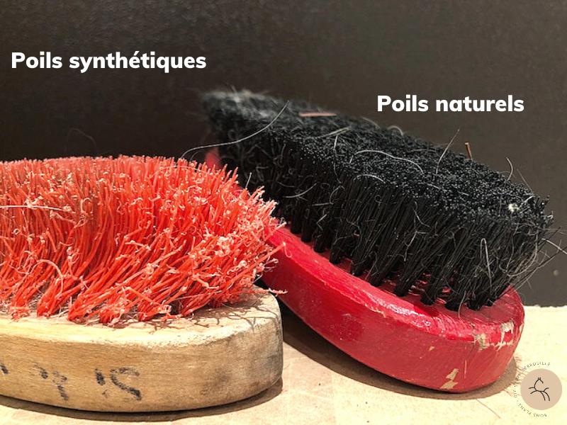 Différence entre brosse synthétique et naturelles
