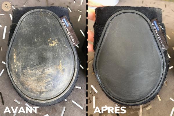 Nettoyer protection du cheval - coque plastique