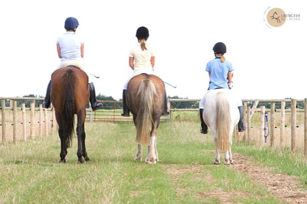 balade cheval en famille