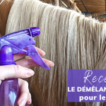 recette démêlant criniere maison DIY cheval